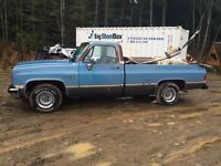 1986 2wd Chevy pickup 4 sale