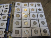 Canada 25 Cents Coin Collection 1919-2015