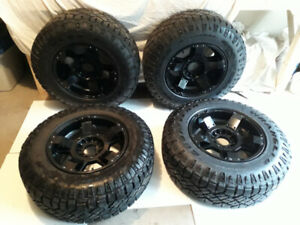 Goodyear tires with rims