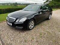 Mercedes E200CDI BlueEfficiency 4 door diesel Auto saloon,full leather,RESERVED