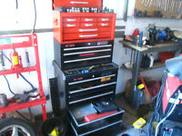 Tool Box with tools / specialty tools