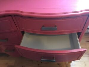 Awesome watermelon pink dresser