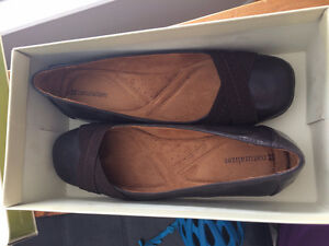 Creaver Oxford Brown flats