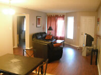 Spacious Fully Furnished 2 Bedroom Apt. Available Immediately