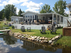 waterfront cottage unit with breathtaking view