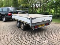 Tipper trailer, 3 way tipping. Not Ifor Williams