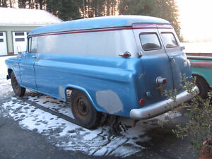 Does anyone remember this blue 1955 Chev panel from Leduc? Strathcona County Edmonton Area image 2