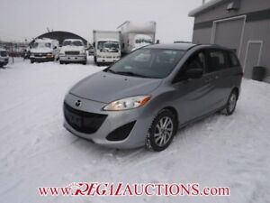 2014 MAZDA MAZDA5 GS 4D WAGON AT 2.5L GS