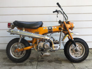 Classic Honda Trail 70 Upgraded to 88cc - An Adult Daily Rider