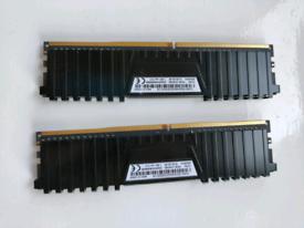 Corsair Vengeance LPX DDR4 16GB Duel Module 3000MHz RAM