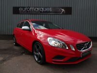 Volvo V60 DRIVe (115 ps) R-Design Start/Stop (red) 2012