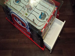 LNH JEU DE HOCKEY TABLE BOARD COLECO GAME ROOM MONTREAL QUEBEC