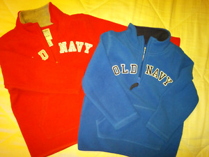 Boys 3T fleece sweaters