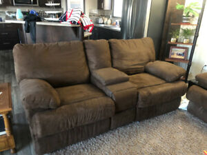 Recliner couch and sofa bed