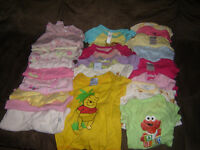 girls clothes 0-3 months