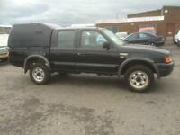 FORD RANGER 2.5 TD 4X4 D-CAB PICK UP.