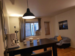 Full furnished apartment  in front of metro Laurier