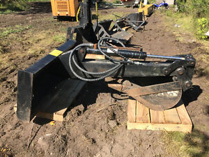 "Back Hoe Attachment with 18"" Bucket for Sale"