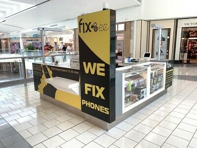 Used Mall Kiosk Repair Cart Phone Accessories Store Fixture Business Equipment
