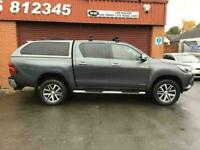 2016 Toyota Hilux Invincible D/Cab Pick Up 2.4 D-4D FULL HEATED BLACK LEATHER /