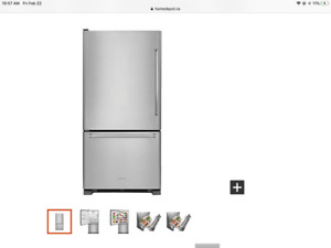 KitchenAid Stainless Steel Fridge
