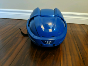 Warrior Krown 360 hockey helmet senior medium / small Royal Blue