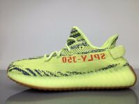 Adidas Yeezy 350 V2 Semi Frozen Yellow 'YEBRA' Sizes 3.5, 5, 6, 6.5, 7.5, 8, 8.5, 9, 9.5, 10, 11