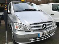 2013 63 Mercedes-Benz Vito 2.1CDI 113 ( EU5 ) - Extra Long 113CDI SILVER / FSH
