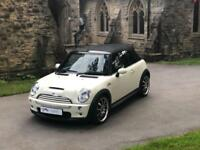 MINI CONVERTIBLE COOPER S White JCW ALLOYS AND ONLY 36000 MILES