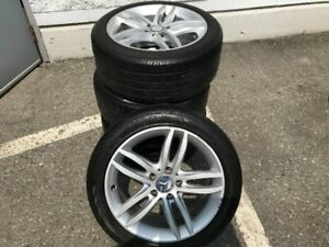 Mercedes Benz 17 Inch Wheels with Tires