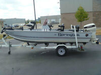 1989 16 ft Springbok Pro Series 169- Trailer included