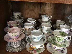 QUALITY CHINA   24 cups and saucers  $80.00