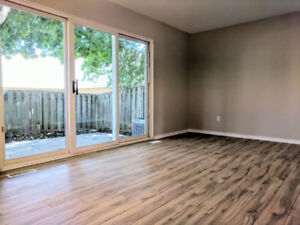 Newly renovated town home with finished Recreation room