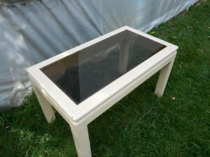 2 solid tinted glass  Coffee Tables Peterborough Peterborough Area image 1