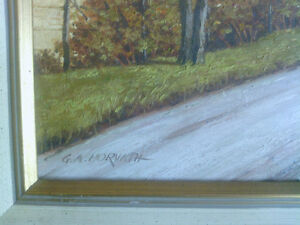 Original Oil on Canvas - Horvath North Shore Greater Vancouver Area image 4