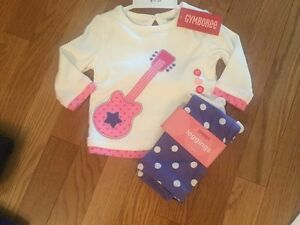 NWT Gymboree Top & Leggings 3-6 mos NEW
