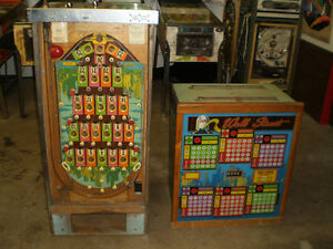 "1974 Bally ""Wall Street"" Pinball Bingo Machine"