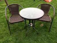 Patio set / table & chairs £45 (can deliver local)