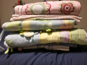Baby blankets and quilts