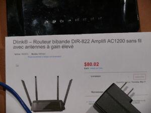 Routeur Dlink DIR-822