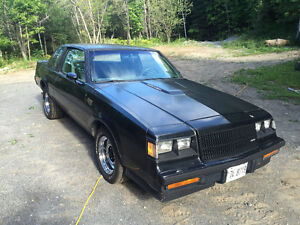 Buick grand national à vendre rapidement
