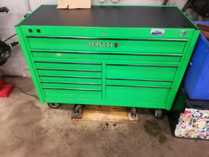 Matco 4S 2 bay toolbox with power