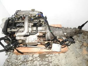 JDM Skyline RB25DET Series 2 Turbo ENGINE 5 SPEED RWD TRANSMISSI