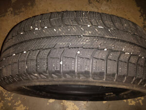 Michelin X-Ice Winter Tires  185 60 15 Fits recent  Nissan Micra