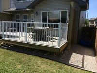 Fences decks landscaping
