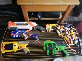 Job lot of Nerf Toy Guns. Bundle