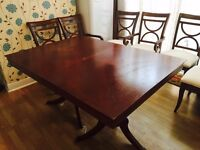 Extendable table & 6 chairs from HAMTON HOUSE furniture