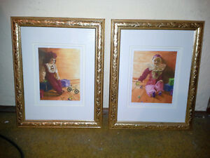 TWO FRAMED LIMITED EDITION PRINTS FOR A CHRISTMAS GIFT