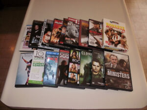 **AWESOME !!! 16 Different Assorted DVDs !!!**