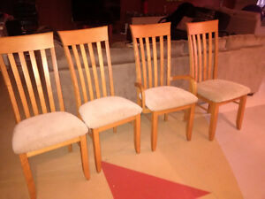 4 Maple Lancaster Chairs